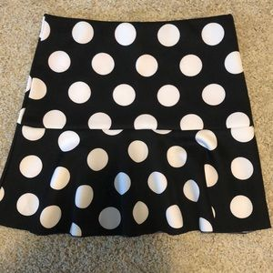 Mermaid Style Mini Skirt NWOT